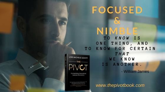 Nimble Decision-Making, Aligned Momentum, The Pivot