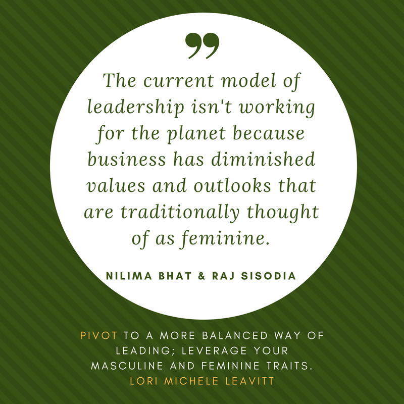 Leadership today: Balance masculine and feminine traits