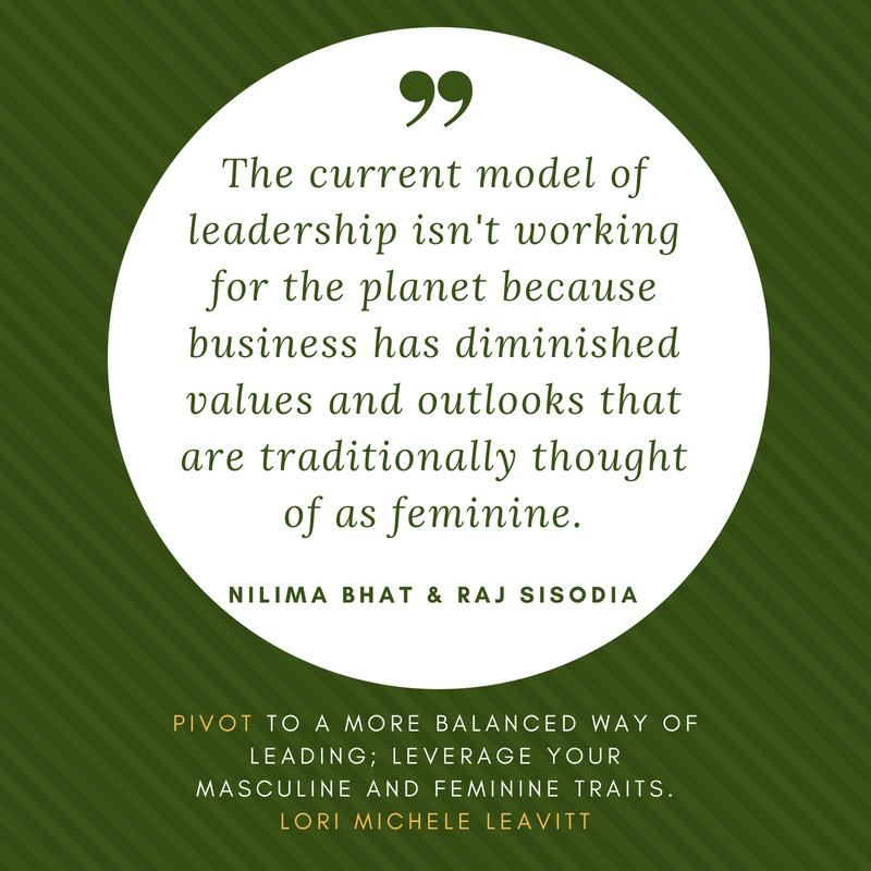 PIVOT, leadership, masculine, feminine